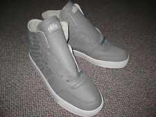 Alife New York City Everybody Mono Quilt Gray/White Athletic Shoes (Mens US 12)