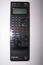 PHILIPS VCR REMOTE CONTROL AV6490 battery hatch missing