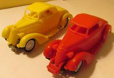 Eldon 1/32 Crash Car Jalopy Slot Car Pair 1965