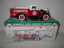 Liberty Classics Conoco 1936 Dodge Tanker Die-Cast Metal Bank - New in Box
