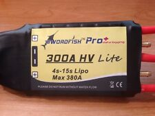 Hifei Swordfish Pro+300A (lite) 4-15s High Voltage Boat Esc With Data Logging