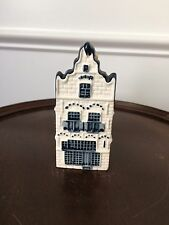 BLUE DELFT MADE FOR KLM BY BOLS AMSTERDAM COLLECTORS HOUSE #20 - SEALED W/LIQUID
