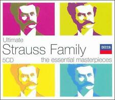 Ultimate Strauss Family CD NEW