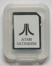 ATARI ST BOOTABLE 2GB SATANDISK ULTRASATAN SD CARD ASCI TOS DOS PC MAC EMULATOR