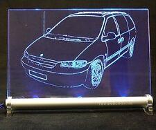 Chrysler Voyager III GS als AutoGravur auf LED Schild