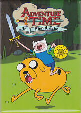 Adventure Time with Finn and Jake ~ Chaaarge! Magnet ~ Officially Licensed