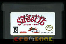 MARY-KATE AND ASHLEY SWEET 16 Gameboy Advance Versione Americana ••••• CARTUCCIA