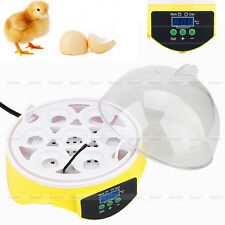 Mini Digital 7 Egg Capacity Chicken Duck Bird Hatch Incubator Tool Kit