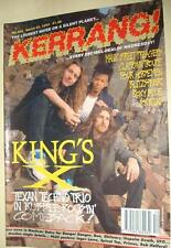KERRANG! # 384 - KING'S X SOUNDGARDEN FOUR HORSEMEN SKYCLAD PRONG SCATTERBRAIN