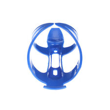 Blue Bike Bicycle Drink Water Bottle Cup Holder Mount Cage Polycarbonate