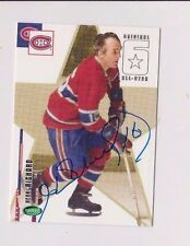 03/04 Parkhurst Original 6 Henri Richard Montreal Canadiens Autographed Card #65