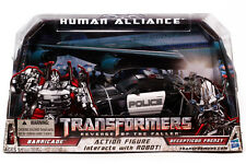 TRANSFORMERS BARRICADE HUMAN ALLIANCE ROTF EDITION