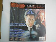 1X X FILES #1 Official 1996 SEALED NEW Magazine W POSTER & PROMO Card Lots Avail
