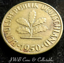 1950 GERMANY 5 PFENNIG COIN