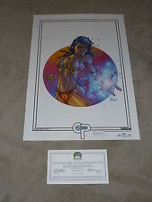2012 ASPEN FATHOM BOXING DAY ART PRINT BY MICHAEL TURNER & STEIGERWALD SIGN