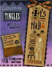 Lizzie Kate Tingles F145 It's Hallo-scream Counted Cross Stitch Chart Buttons