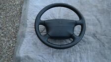 PORSCHE 911-993/996 OEM FACTORY GENUINE BLACK LEATHER STEERING WHEEL & AIRBAG