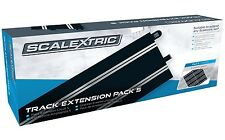 Scalextric Track Extension Pack 5 - 8pcs C8205 350mm Straight Tracks C8554