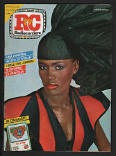 RADIOCORRIERE 34/1983 GRACE JONES GILBERTO GIL + INSERTO TV LOCALI LAZIO UMBRIA