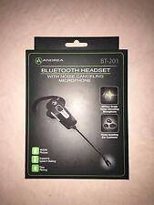 NEW Andrea Electronic BT-201 Bluetooth Headset NOISE CANCELLING HANDS FREE