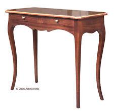 Console modelée élégante avec tiroirs, table console en bois pour le salon
