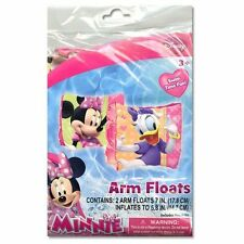 Disney Minnie Mouse Daisy Kids Swim Wings Arm Bands Floats Pool Beach Floaties