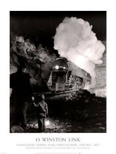 TRAIN PHOTO ART PRINT Montgomery Tunnel Near Christiansburg O Winston Link 32x24