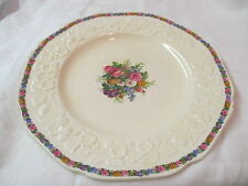 Vintage England Crown Ducal Dinner Plate Gainsborough Charm RdNo749657