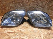 96 2001 JDM HONDA PRELUDE SIR BB5 BB6 BB8 CHROME HID HEADLIGHT SET RARE ITEM OEM