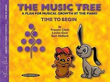 The Music Tree: A Plan for Musical Growth at the Piano : Time to Begin-ExLibrary