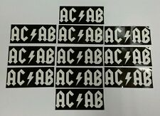 12x ACAB Stickers - AMF - Ultras Casuals Terrace Football Stickers - 1312