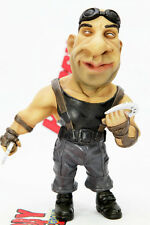 RIDDICK VIN DIESEL PITCH BLACK FUNNY PAINTED DEFORMED SD RESIN MODEL FIGURE