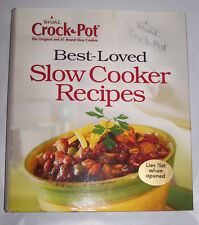 Best-Loved Slow Cooker Recipes (2006, Hardcover) Lies flat when opened!