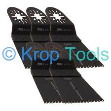 5 Multi Tool Blades Erbauer Makita Milwaukee 65mm Precision Wood by KROP