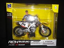 NewRay Suzuki RCH RM-Z450 Factory Racing Dirt Bike Ken Roczen #94 1/12