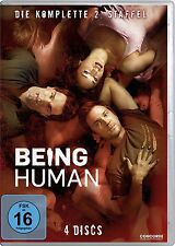 4 DVDs * BEING HUMAN - STAFFEL / SEASON 2 # NEU OVP $