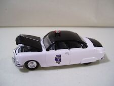 NWOB RACING CHAMPIONS ILLINOIS STATE POLICE '50 FORD COUPE DIECAST CAR POLICE