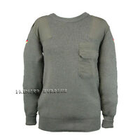 Genuine Bundeswehr German Army Olive Cold Weather Jumper Sweater, NEW