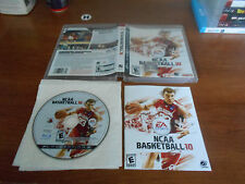 NCAA Basketball 10 complete great shape PS3 (Sony PlayStation 3, 2009)