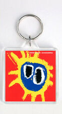 PRIMAL SCREAM SCREAMADELICA 1991 LP COVER KEYRING LLAVERO