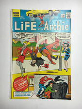 Life with Archie #45 VF/NM glossy white comic 1966 Origin Pureheart