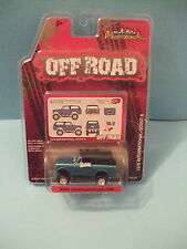 1978 INTERNATIONAL SCOUT II BLUE REAL RIDERS  OFF ROAD BY JOHNNY LIGHTNING MOC