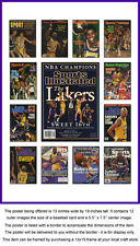 Los Angeles Lakers Sports Illustrated Collage Poster