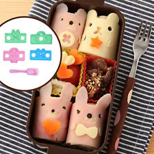 5Pcs/Set Sushi Rice Ball Mold Onigiri Mould with Nori Punch DIY Lunch Bento