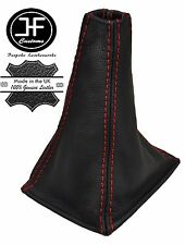 RED STITCHING REAL LEATHER MANUAL GEAR GAITER FITS PRIMERA P11 1996-2001