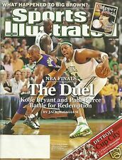 Paul Pierce Boston Celtics Sports Illustrated Magazine vs Kobe - June 2008 - NBA