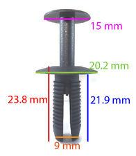 10 x BMW MIni Push Rivets Plastic Trim Clips Skirts Bumpers, Sills, GL1533 Q095