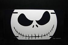 JACK SKELLINGTON METAL LICENSE PLATE TAG FOR CARS SKULL LICENSE PLATE