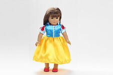 Fashion fluorescenc clothes dress for 18inch American girl doll party b81