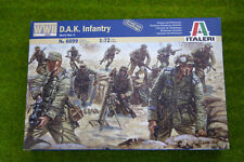 GERMAN D.A.K Infantry WWII 1/72 Scale Italeri 6099